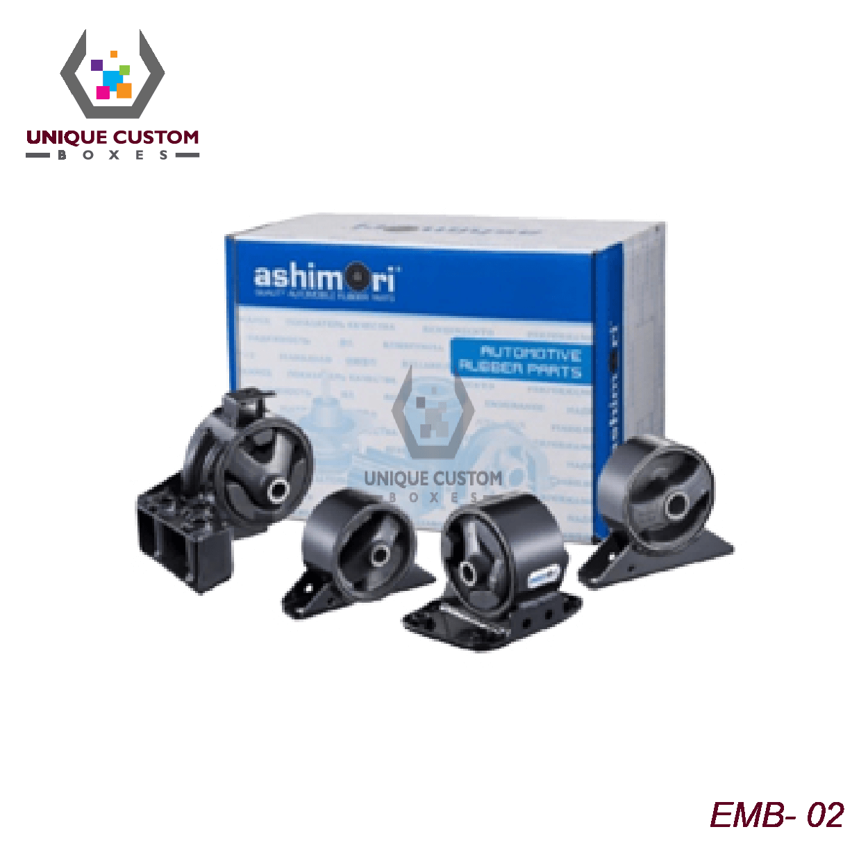 Engine Mounting Boxes-3