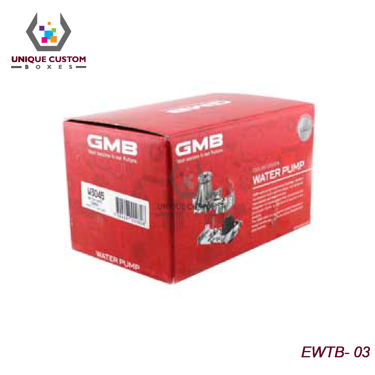 Engine Water Pump Boxes-2