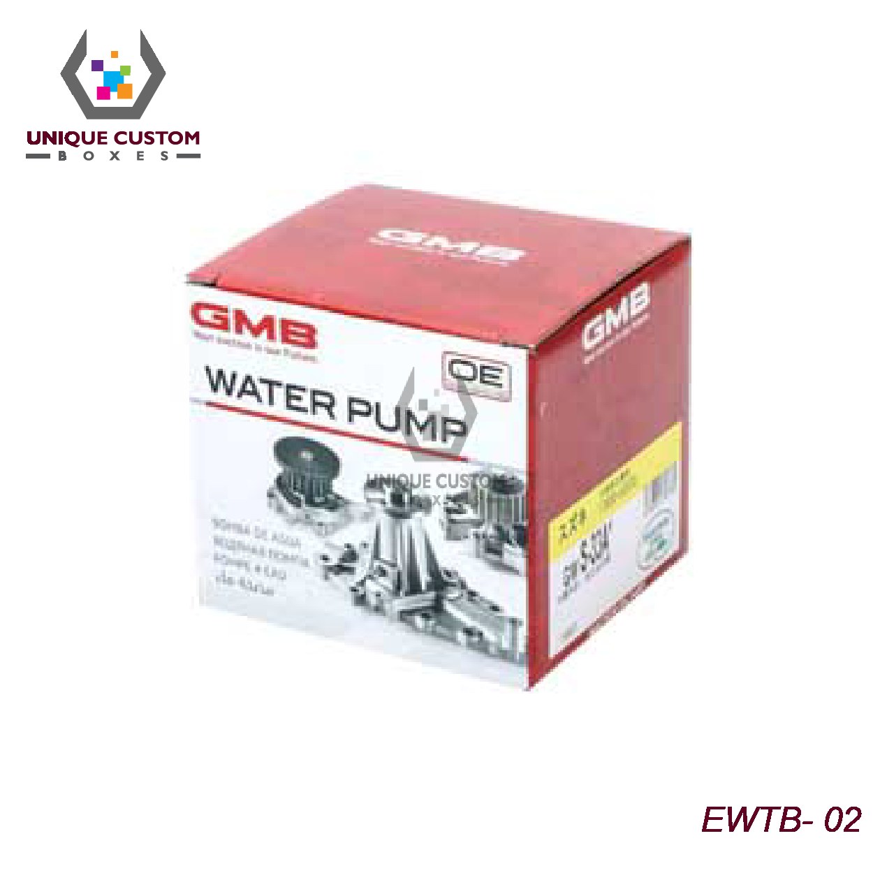 Engine Water Pump Boxes-3
