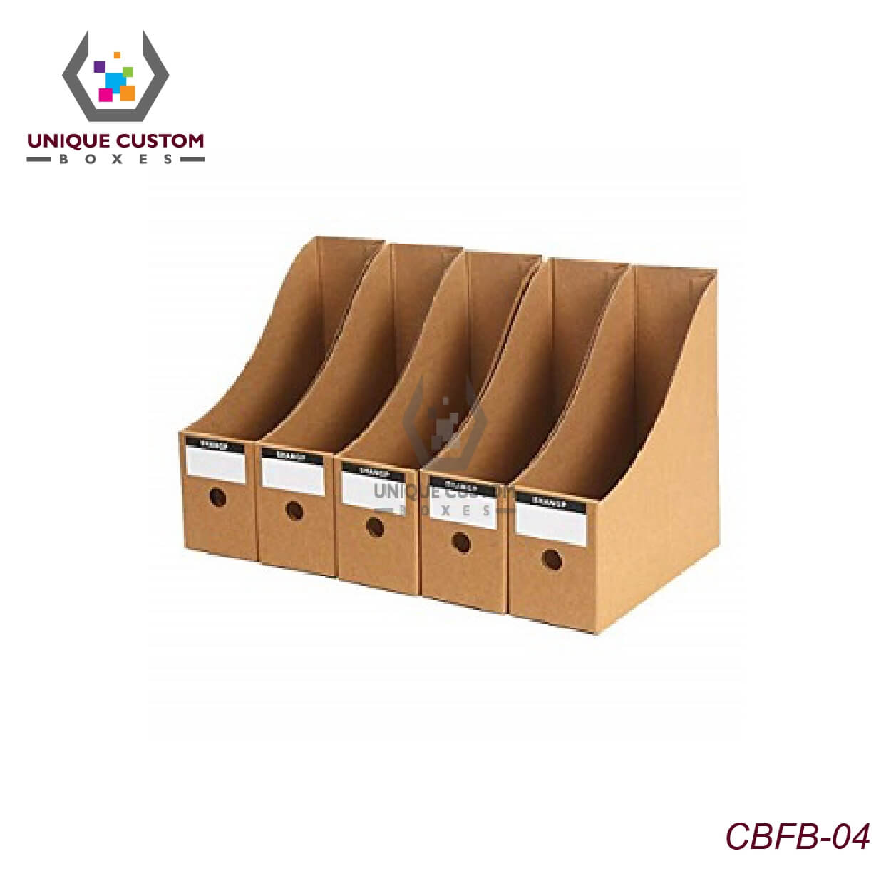 Cardboard File Holder Boxes-2