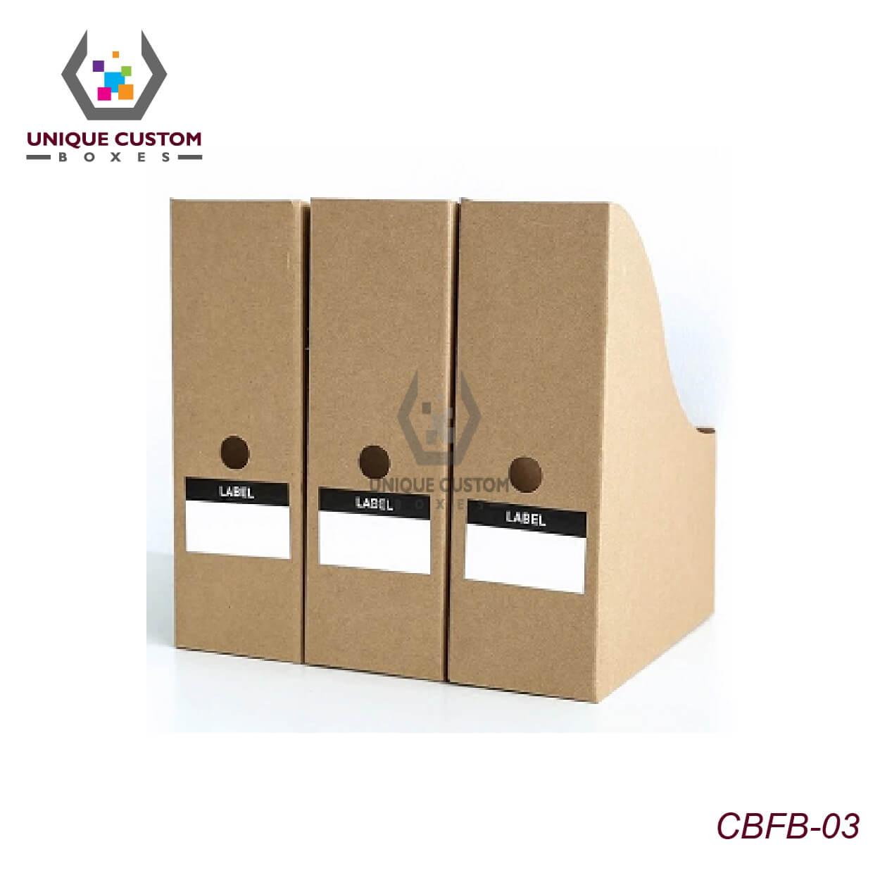 Cardboard File Holder Boxes-4