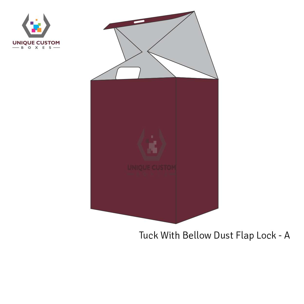 Tuck With Bellow Dust Flap Lock-1