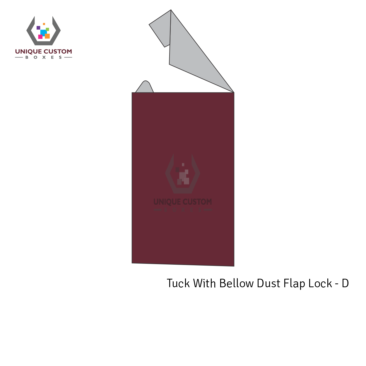 Tuck With Bellow Dust Flap Lock-4