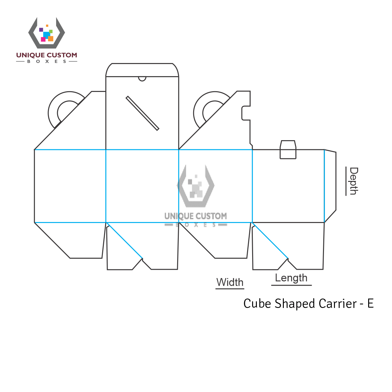 Cube Shaped Carrier-4