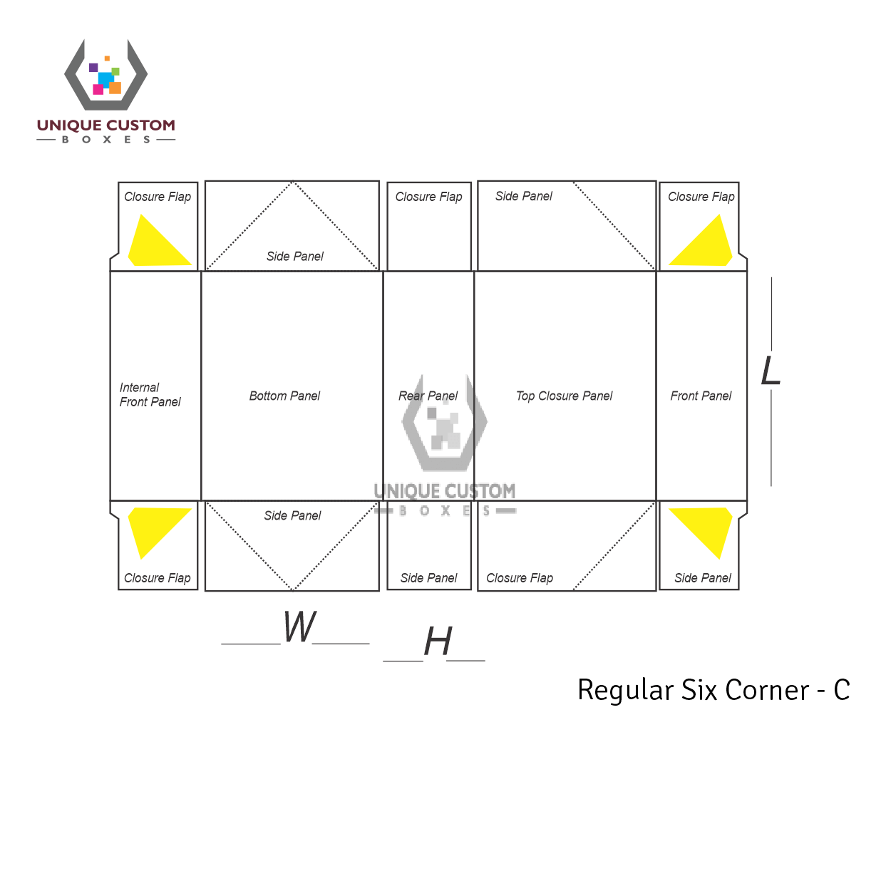 Regular Six Corner-3