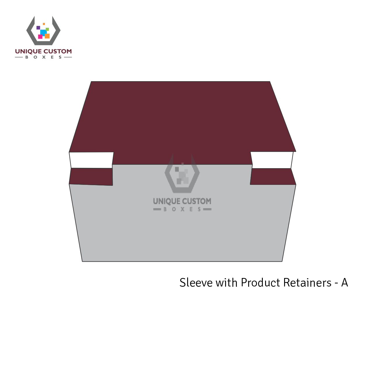 Sleeve With Product Retainers-1
