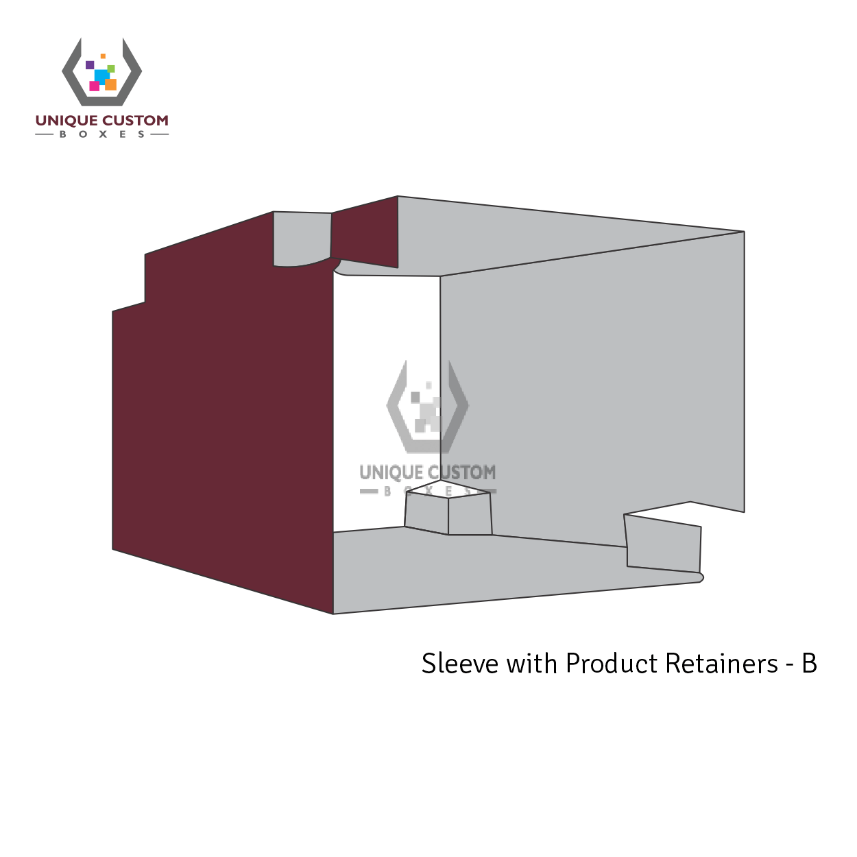 Sleeve With Product Retainers-2
