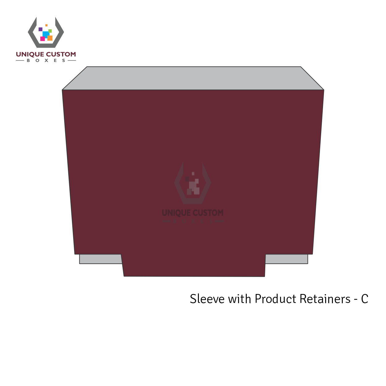 Sleeve With Product Retainers-3