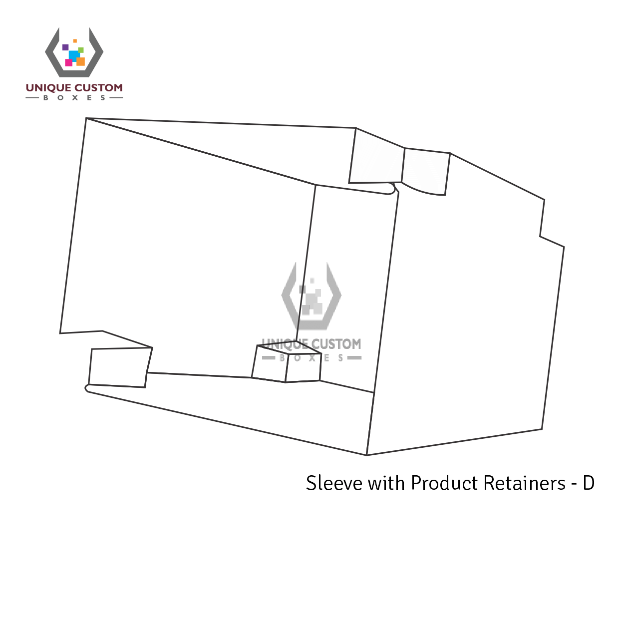 Sleeve With Product Retainers-4