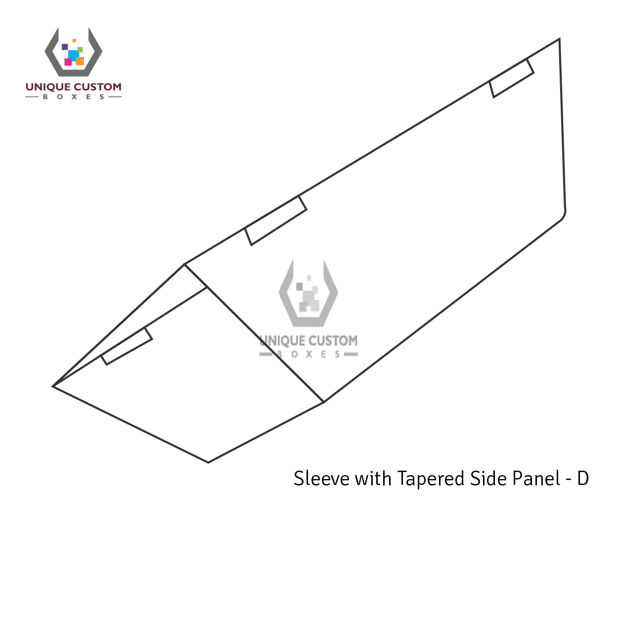 Sleeve With Tapered Side Panel-4
