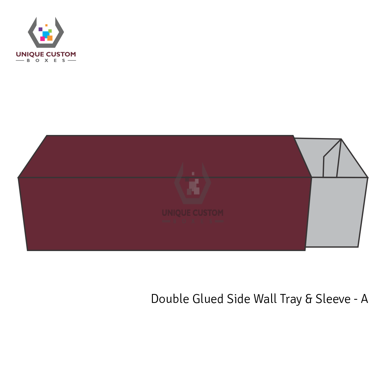 Double Glued Side Wall Tray and Sleeve-4