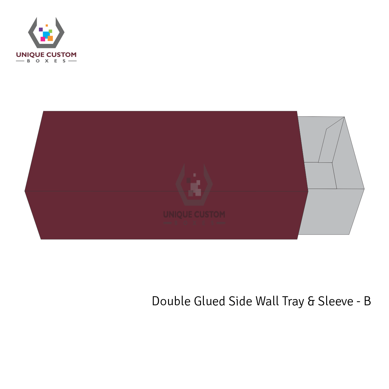 Double Glued Side Wall Tray and Sleeve-1