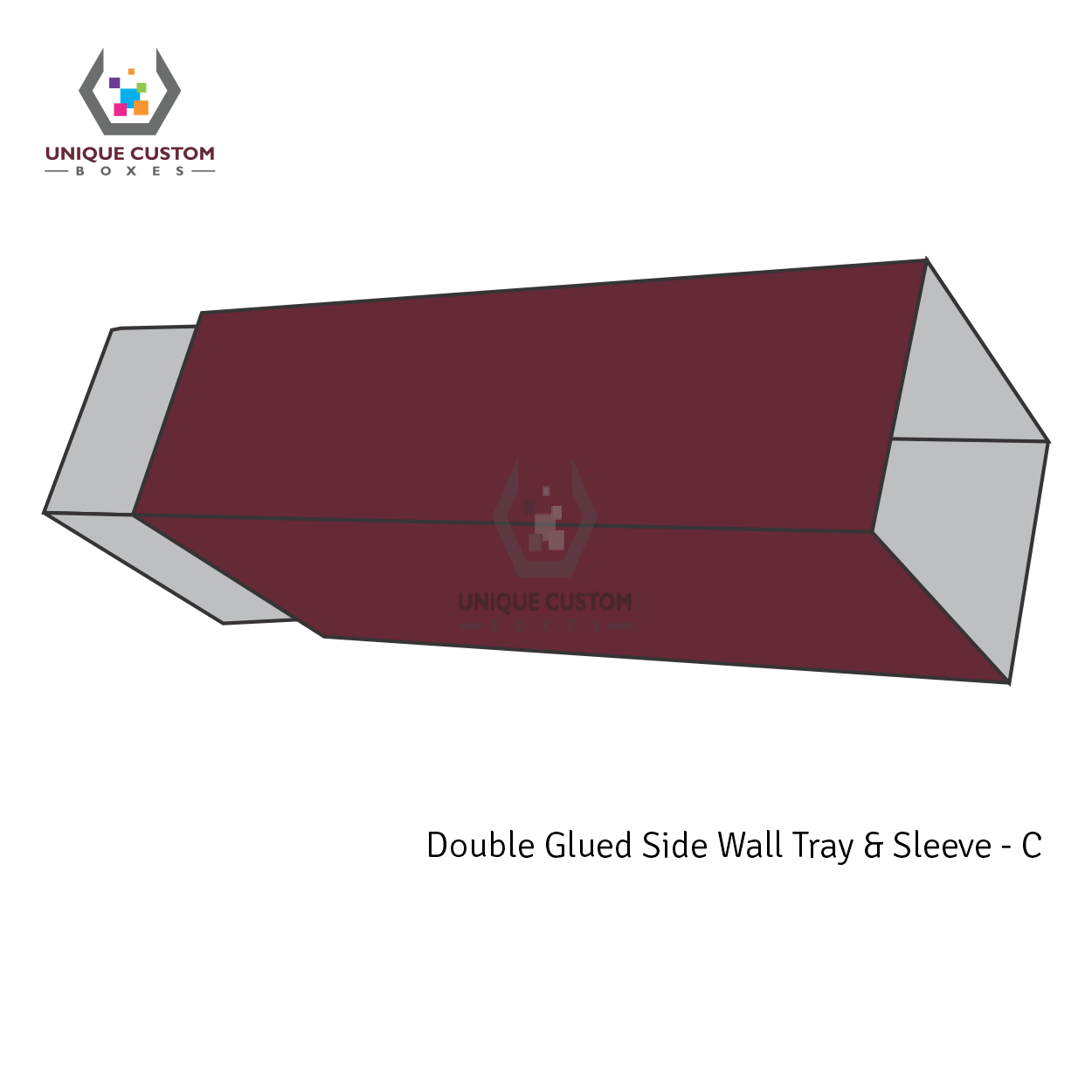 Double Glued Side Wall Tray and Sleeve-2