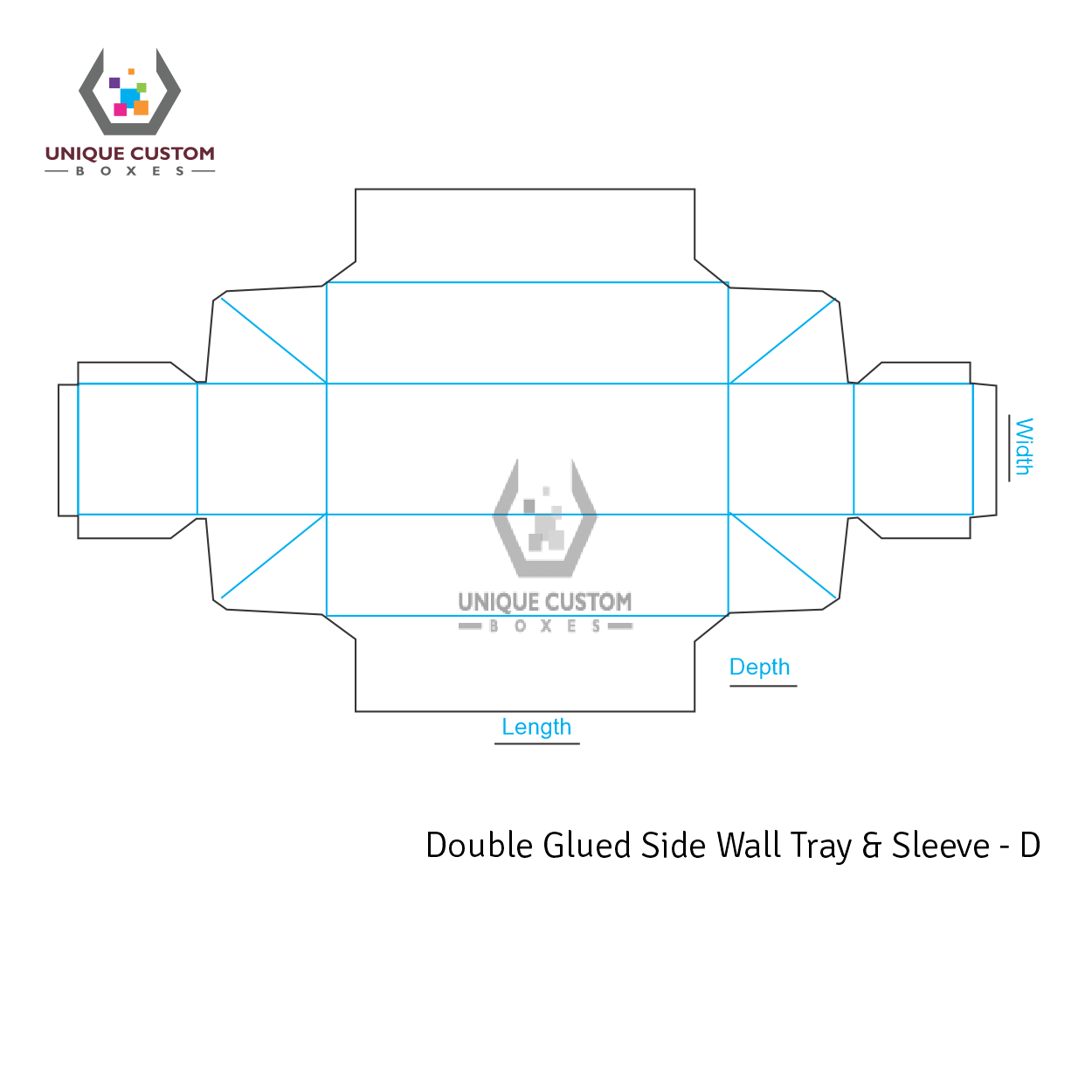 Double Glued Side Wall Tray and Sleeve-3