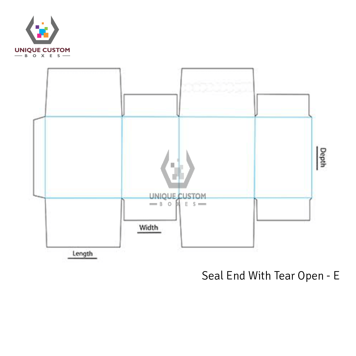 Seal End With Tear Open-3