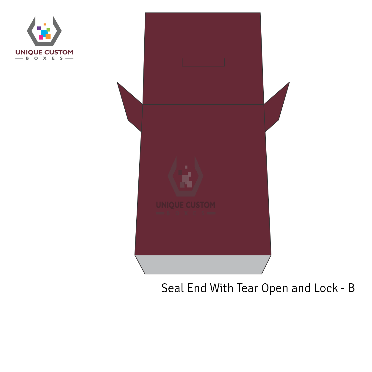 Seal End With Tear Open and Lock-1