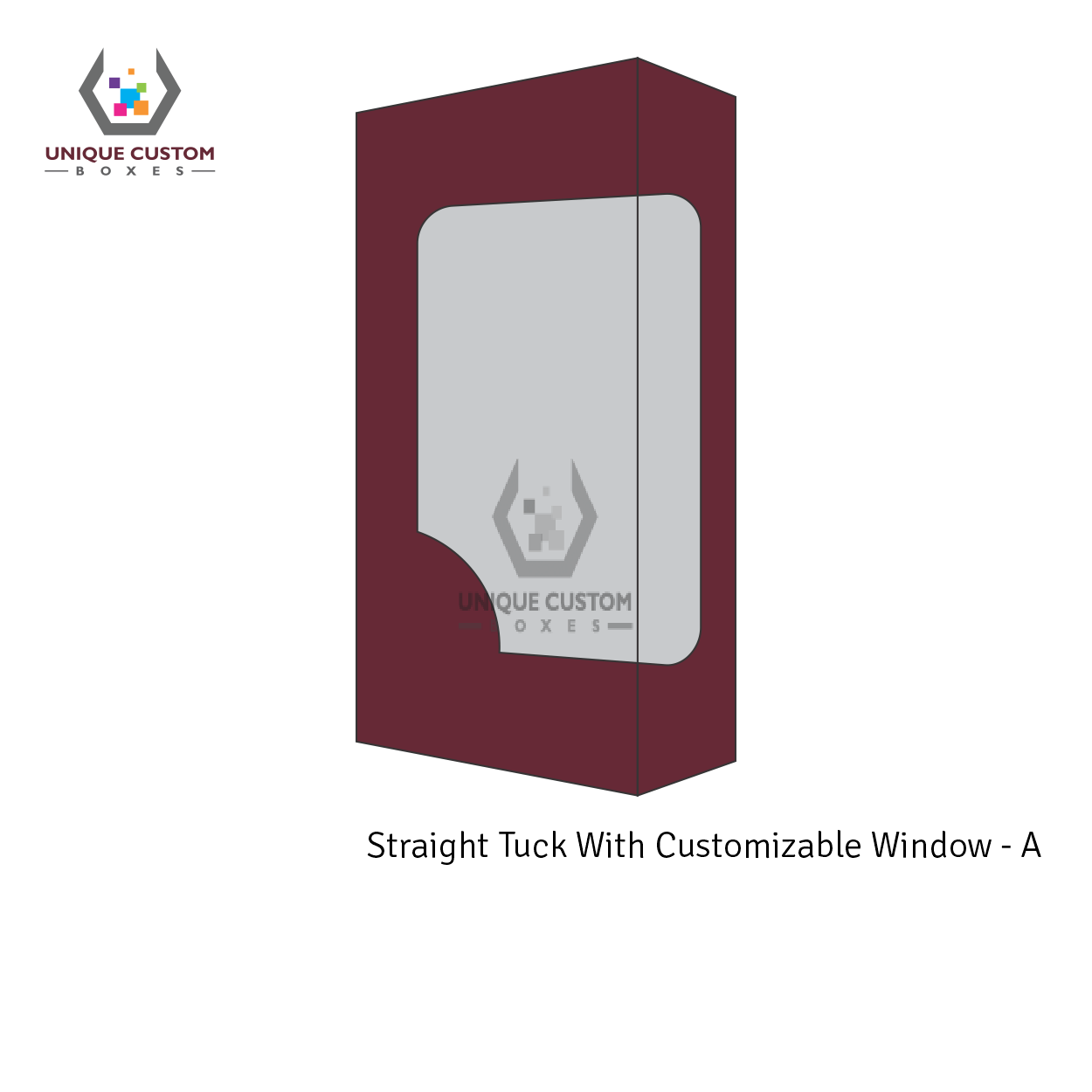 Straight Tuck With Customize Window-4
