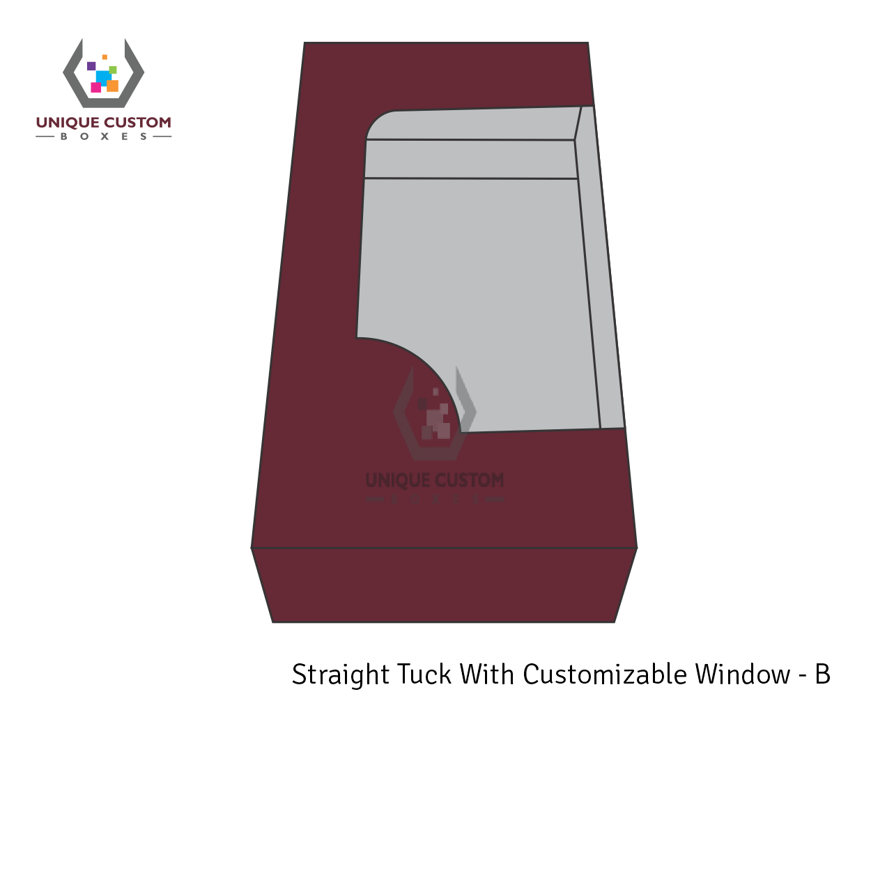 Straight Tuck With Customize Window-1