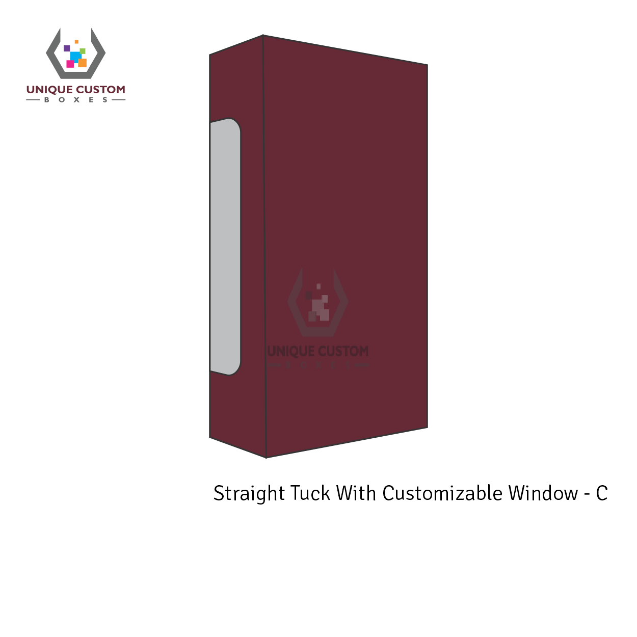Straight Tuck With Customize Window-2